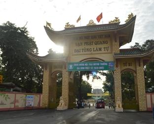 Lễ khai mạc Hội Trại Họp Bạn Huynh Trưởng Toàn Quốc tại Vạn Phật Đại Tòng Lâm  Bà Rịa Vũng Tàu