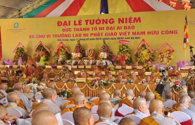 Đại lễ tưởng niệm Đức Thánh Tổ Ni Đại Ái Đạo