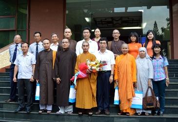 Ban Trị Sự GHPGVN TP Buôn Ma Thuột Thăm và Ra Mắt các cơ quan ban ngành tỉnh và thành phố.