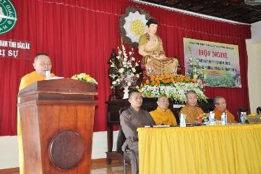 Hội nghị Tổng kết Công tác Phật Sự Năm 2015 và Phương hướng Hoạt động Năm 2016 của Ban Trị sự GHPGVN Tỉnh Đăk Lăk.