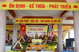 Huyện Krông Ana Tổ Chức Đại Hội Đại Biểu Phật Giáo Lần Thứ II Nhiệm Kỳ 2016 – 2021.