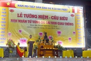 Lễ Tưởng niệm và cầu siêu nạn nhân tử vong do Tai nạn giao thông năm 2016 tại tỉnh Đăk Lăk