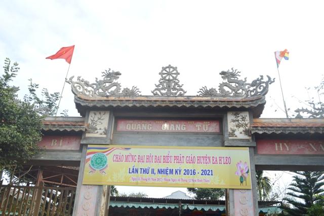 Dak Lak: Phật giáo huyện Ea Hleo Đại hội Đại biểu nhiệm kỳ II (2016 – 2021)