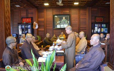 Kỳ họp Thường trực Ban Trị sự  GHPGVN tỉnh DakLak