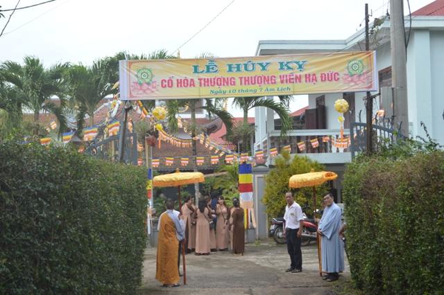Lễ húy kỵ cố Hòa Thượng Thượng Viên Hạ Đức tại chùa Dược Sư - TP Buôn Ma Thuột