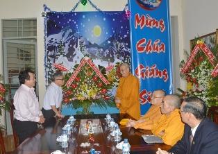 Ban Trị sự GHPGVN tỉnh Dak Lak chúc mừng Giáng sinh Giáo Phận Buôn Ma Thuột