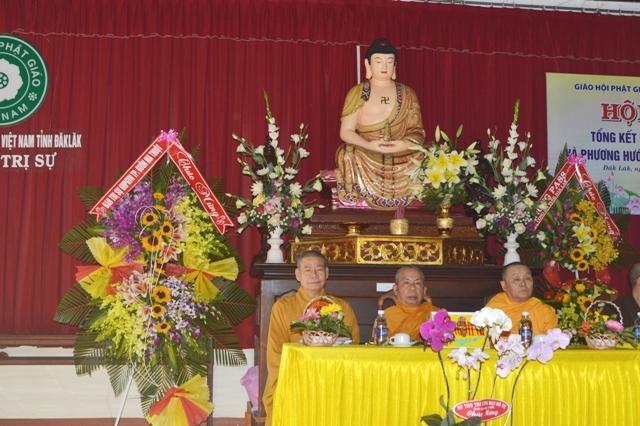Hội nghị Tổng kết Phật Sự năm 2016 và Phương hướng Hoạt động Năm 2017 của Ban Trị sự GHPGVN Tỉnh Đăk Lăk.
