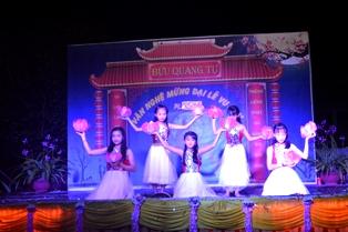 Đêm Văn Nghệ Vu Lan Báo Hiếu tại Chùa Bửu Quang. Huyện Cư Mgar