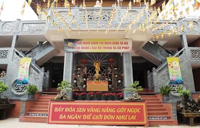 Lăk: Trang nghiêm tổ chức lễ Phật đản PL.2564 – Dl.2020