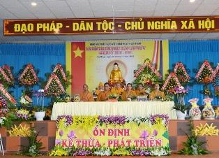 Đăk Lăk: Đại hội Đại biểu Phật giáo huyện CưMgar lần thứ V nhiệm kỳ (2016 - 2021)