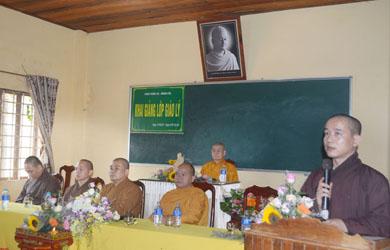 Khai giảng lớp Giáo lý Phật tử chùa Phước An huyện Krông Pắc