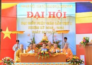 Đại Hội Đại Biểu Phật Giáo Huyện Krông Búk Lần Thứ 1 ( Nhiệm kỳ-2016-2021)