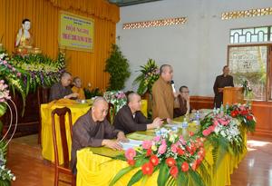 Hội nghị Tổng kết Phật giáo Thị xã Buôn Hồ năm 2018