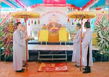 Lễ Công Nhận Chính Thức Niệm Phật Đường Từ Ân Huyện Cư Kuin và Ra Mắt Ban dại diện NK 2012 - 2016.
