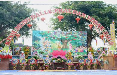 Chùa An Hòa Kính mừng Đại Lễ Phật Đản PL 2563