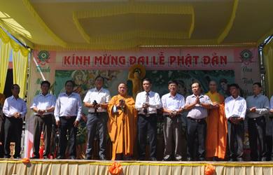 BTS. GHPGVN Krông Bông tổ chức Đại Lễ Phật Đản PL 2562 – DL 2018