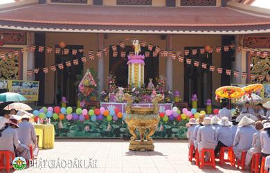 Lễ Phật đản chùa Pháp Bảo TT Quảng Phú