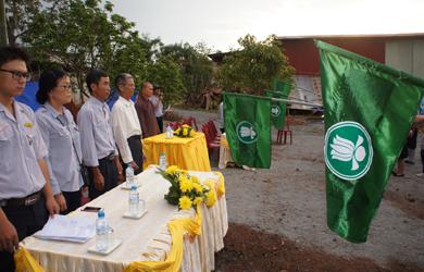 Khai mạc Hội trại Lâm Tỳ Ni GĐPT Tây Trúc