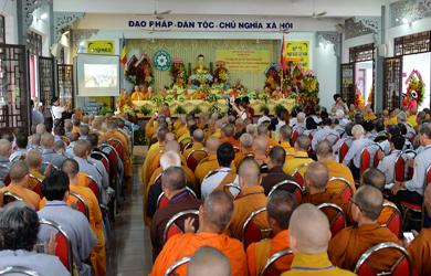 TPHCM: Nhân sự Ban Hướng dẫn Phật tử T.Ư ra mắt