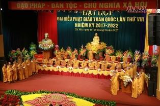Bế Mạc Đại Hội Phật Giáo Toàn Quốc Lần Thứ VIII