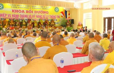Bình Dương: 314 học viên tham dự Khóa Bồi dưỡng Nghiệp vụ