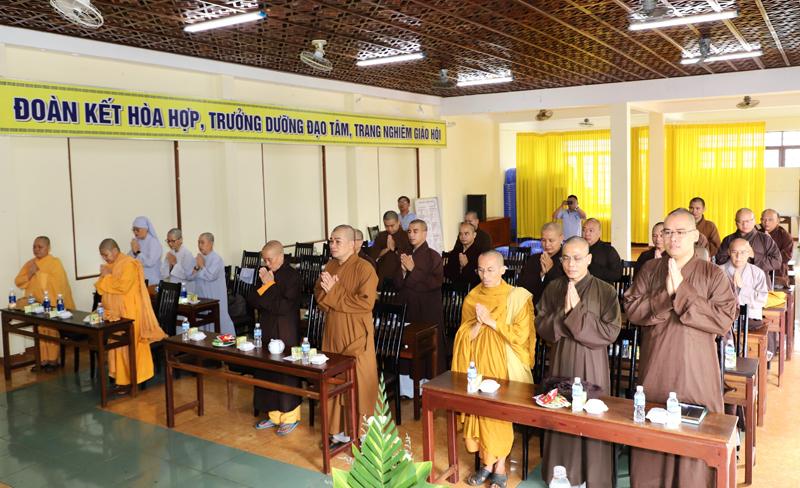 Đắk Lắk: Họp Ban Trị sự Phật giáo Tỉnh