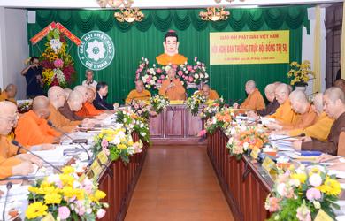 Hội nghị Ban Thường trực Hội đồng Trị sự GHPGVN