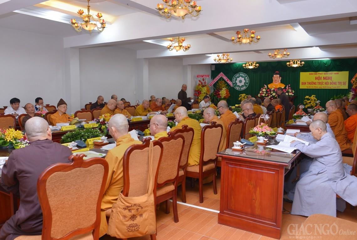Hội nghị Ban Thường trực HĐTS chuẩn bị cho Đại hội VIII