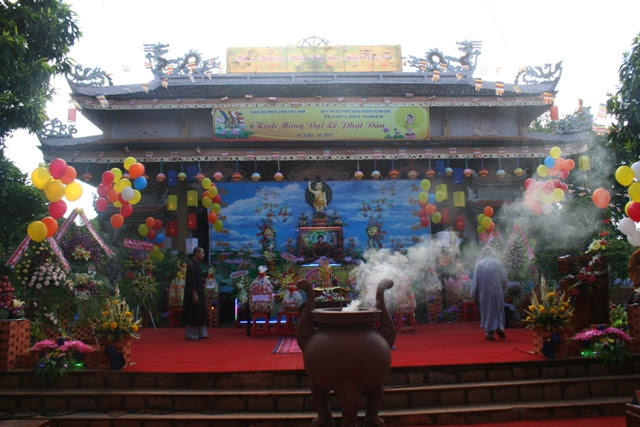 Ban Trị Sự GHPGVN Huyện CưMgar Tổ Chức Đại Lễ Phật Đản PL 2561 – DL 2017