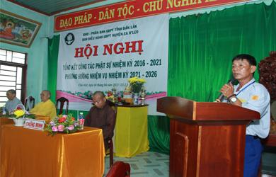 GĐPT huyện EaH'Leo Hội nghị tổng kết nhiệm kỳ 2016-2021