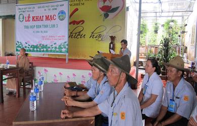 GĐPT Ea H'Leo tổ chức trại Họp bạn  Tình Lam III