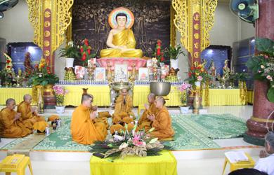 Tịnh Xá Ngọc Bửu huyện Ea Kar Lễ cầu an đầu năm Kỷ Hợi.