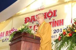 Diễn Văn Khai Mạc Đại Hội Phật giáo DakLak Nhiệm kỳ VII ( 2017 - 2022)