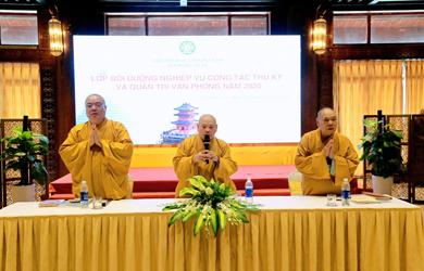 Hà Nam: Khai mạc Hội nghị Thư ký Phật giáo toàn quốc năm 2020