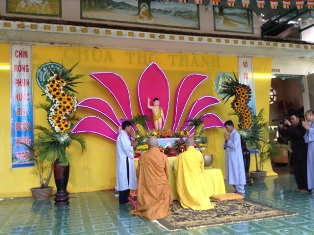 Chùa Thọ Thành Đại Lễ Phật Đản PL. 2561