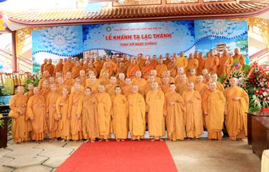 Lễ Khánh tạ lạc thành Tịnh xá Ngọc Chánh huyện Ea H