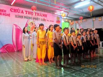 Chùa Thọ Thành Tổ Chức Đêm Văn Nghệ Chào Mừng Phật Đản Sanh PL. 2560.