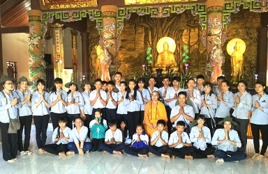 Khóa Tu Một ngày an lạc dành cho GĐPT tại chùa Hoa Nghiêm