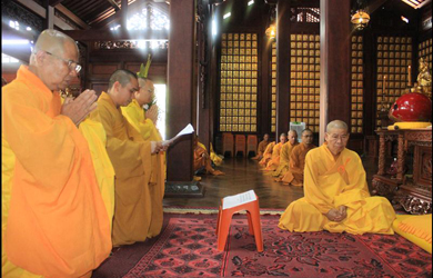 Thực hiện truyền thống tịnh tu theo Luật Phật