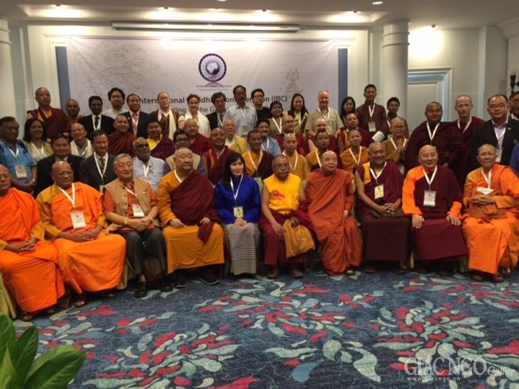 GHPGVN tham dự hội nghị của Liên minh Phật giáo quốc tế
