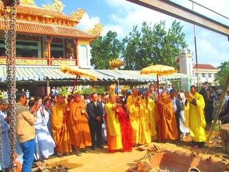 Lễ Cầu Nguyện Rót Đồng Đúc Tôn Tượng Bổn Sư Thích Ca Mâu Ni Phật