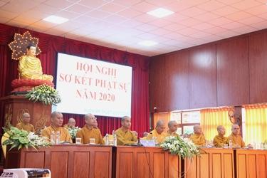 Đăk Lăk: Sơ kết Phật sự 6 tháng đầu năm 2020