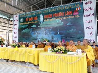 Lễ Đặt Đá Trùng Tu Chùa Phước Lâm Xã Khuê Ngọc Điền  Huyện Krông Bông