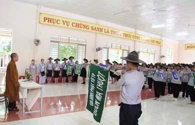 Lễ khai mạc trại A Nô Ma - Ni Liên - Tuyết Sơn X GĐPT TP. Buôn Ma Thuột
