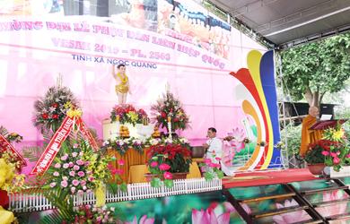 Tịnh Xá Ngọc Quang Tổ chức Đại Lễ Phật Đản PL 2563