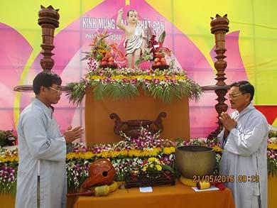 Lễ Phật Đản Chùa Huệ Nghiêm Xã Eahiao Huyện Eahleo Tỉnh Đắk Lắk