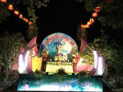 Lễ Phật Đản tại chùa Phước Thăng huyện Krông Pắc