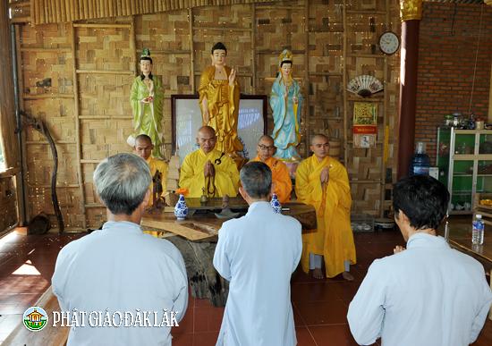 Huyện Lăk: NPĐ Mê Linh tổ chức Lễ Phật Đản PL 2562