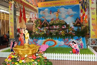 Huyện Lăk: BTS trang nghiêm tổ chức Đại Lễ Phật Đản PL.2562