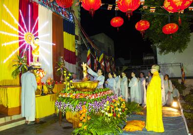 Huyện Lăk: Chùa Liên Sơn mừng đại lễ Phật Đản PL.2562- DL.2018